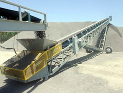 Heavy-Duty Belt Conveyor Systems for Rock, Sand, Dirt, and Gravel